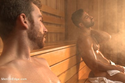 Photo number 2 from Super Hunk Adam Ramzi shot for Men On Edge on Kink.com. Featuring Adam Ramzi in hardcore BDSM & Fetish porn.