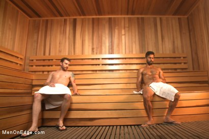 Photo number 1 from Super Hunk Adam Ramzi shot for Men On Edge on Kink.com. Featuring Adam Ramzi in hardcore BDSM & Fetish porn.