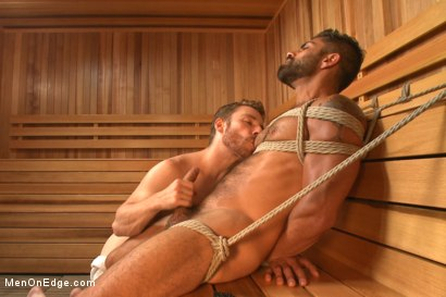 Photo number 8 from Super Hunk Adam Ramzi shot for Men On Edge on Kink.com. Featuring Adam Ramzi in hardcore BDSM & Fetish porn.