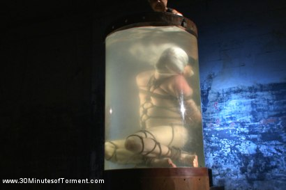 Photo number 13 from Head Buzzed, Ass Stretched and Water Tormented to The Extreme shot for 30 Minutes of Torment on Kink.com. Featuring Patrick Knight in hardcore BDSM & Fetish porn.