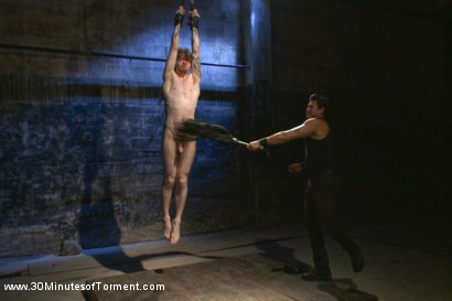 Photo number 1 from Head Buzzed, Ass Stretched and Water Tormented to The Extreme shot for 30 Minutes of Torment on Kink.com. Featuring Patrick Knight in hardcore BDSM & Fetish porn.