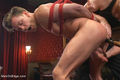 Photo number 8 from Bi hunk with an enormous cock just aching to cum shot for Men On Edge on Kink.com. Featuring Lucas Knight in hardcore BDSM & Fetish porn.