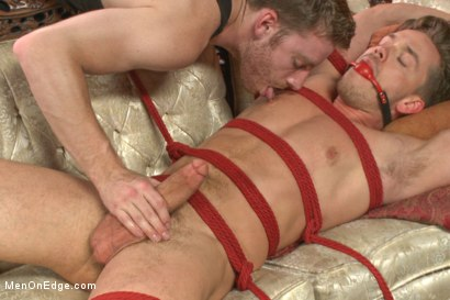 Photo number 12 from Bi hunk with an enormous cock just aching to cum shot for Men On Edge on Kink.com. Featuring Lucas Knight in hardcore BDSM & Fetish porn.