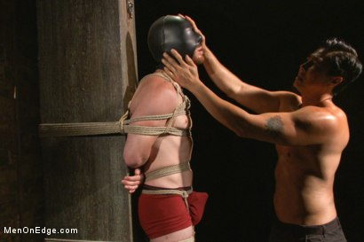 Photo number 4 from My Most Intense Men On Edge Session - By Sebastian Keys shot for Men On Edge on Kink.com. Featuring Sebastian Keys in hardcore BDSM & Fetish porn.