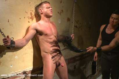 Photo number 3 from Joseph Rough - The stud can really take it! shot for 30 Minutes of Torment on Kink.com. Featuring Joseph Rough in hardcore BDSM & Fetish porn.