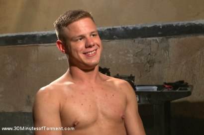 Photo number 15 from Joseph Rough - The stud can really take it! shot for 30 Minutes of Torment on Kink.com. Featuring Joseph Rough in hardcore BDSM & Fetish porn.