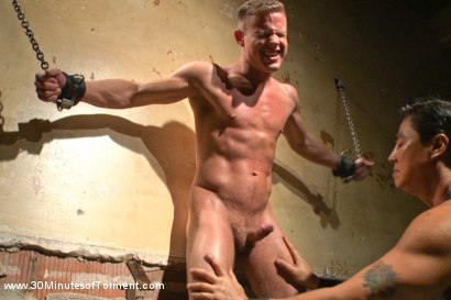Photo number 5 from Joseph Rough - The stud can really take it! shot for 30 Minutes of Torment on Kink.com. Featuring Joseph Rough in hardcore BDSM & Fetish porn.