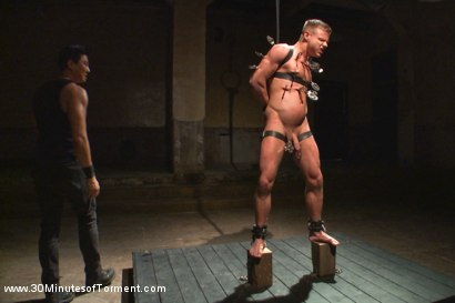 Photo number 9 from Joseph Rough - The stud can really take it! shot for 30 Minutes of Torment on Kink.com. Featuring Joseph Rough in hardcore BDSM & Fetish porn.