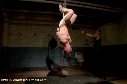 Photo number 6 from Bi Gymnast Takes the 30MT Challenge! shot for 30 Minutes of Torment on Kink.com. Featuring Scott Harbor in hardcore BDSM & Fetish porn.