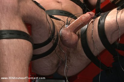 Photo number 7 from Bi Gymnast Takes the 30MT Challenge! shot for 30 Minutes of Torment on Kink.com. Featuring Scott Harbor in hardcore BDSM & Fetish porn.