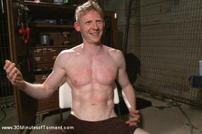Photo number 15 from Straight Kickboxer gets dunked while shooting his load shot for 30 Minutes of Torment on Kink.com. Featuring Rob Yaeger in hardcore BDSM & Fetish porn.