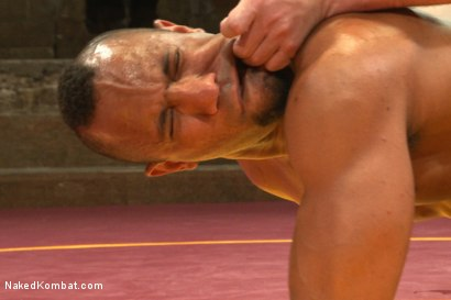 "Photo number 13 from Troy ""The Tank"" Sparks vs Doug ""The Destroyer"" Acre shot for Naked Kombat on Kink.com. Featuring Doug Acre and Troy Sparks in hardcore BDSM & Fetish porn."