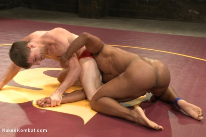 "Photo number 9 from Troy ""The Tank"" Sparks vs Doug ""The Destroyer"" Acre shot for Naked Kombat on Kink.com. Featuring Doug Acre and Troy Sparks in hardcore BDSM & Fetish porn."