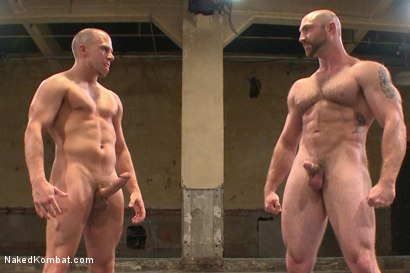 "Photo number 15 from Hot muscled newbie Tatum ""The Beast"" takes on Eli ""The Hammer"" Hunter shot for Naked Kombat on Kink.com. Featuring Eli Hunter and Tatum in hardcore BDSM & Fetish porn."