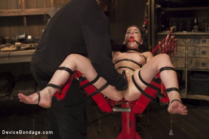 Photo number 13 from Chair of Doom shot for Device Bondage on Kink.com. Featuring Juliette March in hardcore BDSM & Fetish porn.