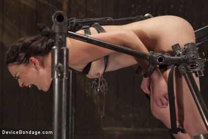 Photo number 15 from Chair of Doom shot for Device Bondage on Kink.com. Featuring Juliette March in hardcore BDSM & Fetish porn.