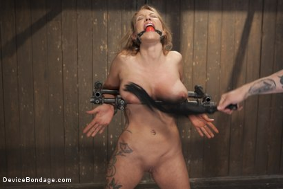 Photo number 2 from Rain DeGrey gets Destroyed with Extreme Torment and Brutal Orgasms!! shot for Device Bondage on Kink.com. Featuring Rain DeGrey in hardcore BDSM & Fetish porn.