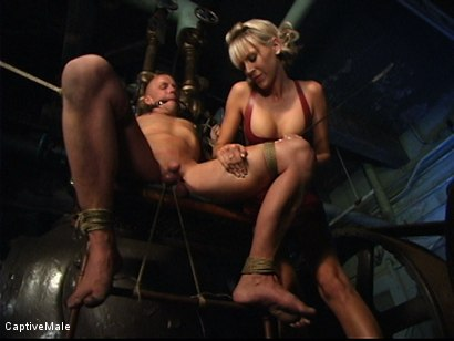 Photo number 6 from Miss Audrey's Slaves shot for Captive Male on Kink.com. Featuring Audrey Leigh, Chad Rock and Sarah Jane Ceylon in hardcore BDSM & Fetish porn.