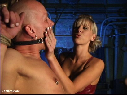 Photo number 7 from Miss Audrey's Slaves shot for Captive Male on Kink.com. Featuring Audrey Leigh, Chad Rock and Sarah Jane Ceylon in hardcore BDSM & Fetish porn.