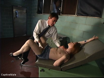 Photo number 2 from The Unprofessional Doctor shot for Captive Male on Kink.com. Featuring Wild Bill, Madison Young and Audrey Leigh in hardcore BDSM & Fetish porn.