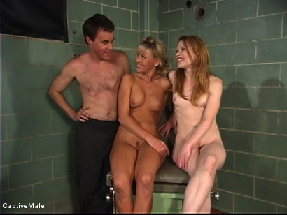 Photo number 15 from The Unprofessional Doctor shot for Captive Male on Kink.com. Featuring Wild Bill, Madison Young and Audrey Leigh in hardcore BDSM & Fetish porn.