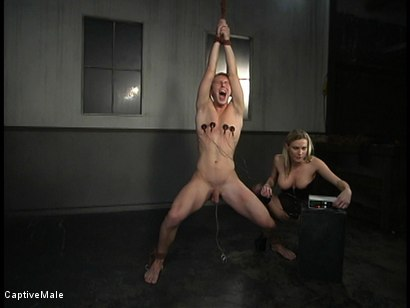 Photo number 10 from Shocking Discipline shot for Captive Male on Kink.com. Featuring Harmony and Danny Wylde in hardcore BDSM & Fetish porn.