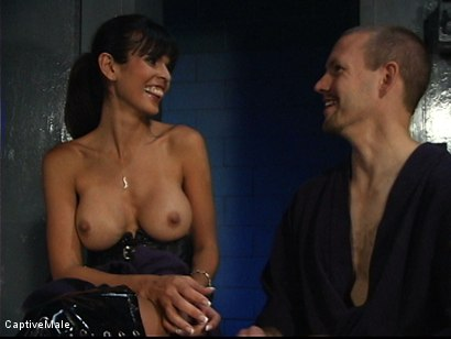 Photo number 16 from Demanding Mistress shot for Captive Male on Kink.com. Featuring Servant and shy love in hardcore BDSM & Fetish porn.