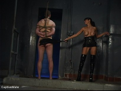 Photo number 3 from Demanding Mistress shot for Captive Male on Kink.com. Featuring Servant and shy love in hardcore BDSM & Fetish porn.