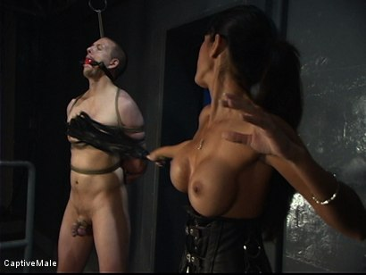 Photo number 5 from Demanding Mistress shot for Captive Male on Kink.com. Featuring Servant and shy love in hardcore BDSM & Fetish porn.