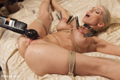 Photo number 14 from My Spoiled Wife shot for Hogtied on Kink.com. Featuring Christie Stevens in hardcore BDSM & Fetish porn.