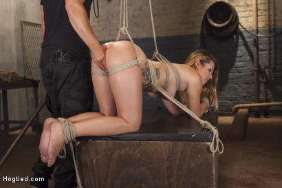 Photo number 10 from Bubble Butt Tied Tight shot for Hogtied on Kink.com. Featuring Jenna Ashley in hardcore BDSM & Fetish porn.