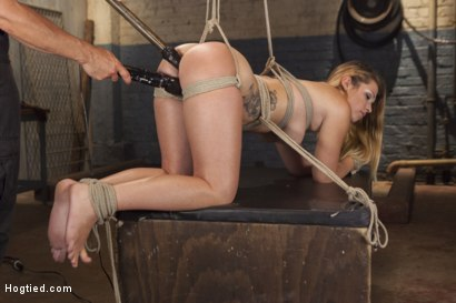Photo number 11 from Bubble Butt Tied Tight shot for Hogtied on Kink.com. Featuring Jenna Ashley in hardcore BDSM & Fetish porn.