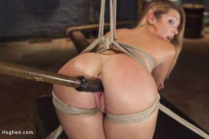 Photo number 7 from Bubble Butt Tied Tight shot for Hogtied on Kink.com. Featuring Jenna Ashley in hardcore BDSM & Fetish porn.