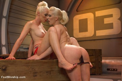 Photo number 15 from Bootlicking Babes Part 1 shot for Foot Worship on Kink.com. Featuring Cherry Torn and Lorelei Lee in hardcore BDSM & Fetish porn.
