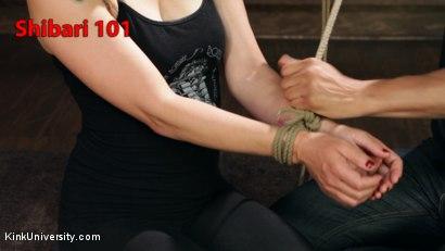 Shibari 101 - Basic Column Ties