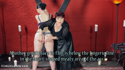 Photo number 11 from Sensual Flogging 101 - with Cleo Dubois shot for Kink University on Kink.com. Featuring Nerine Mechanique and Cleo Dubois in hardcore BDSM & Fetish porn.