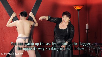 Photo number 15 from Sensual Flogging 101 - with Cleo Dubois shot for Kink University on Kink.com. Featuring Nerine Mechanique and Cleo Dubois in hardcore BDSM & Fetish porn.