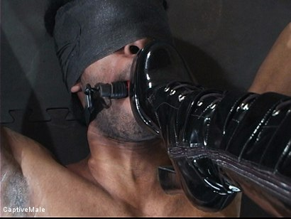 Photo number 15 from Fingered And Fucked: Sandra Romain Trains Secret Agent shot for Captive Male on Kink.com. Featuring Sandra Romain and Secret Agent in hardcore BDSM & Fetish porn.