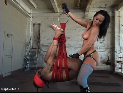 Photo number 3 from Fingered And Fucked: Sandra Romain Trains Secret Agent shot for Captive Male on Kink.com. Featuring Sandra Romain and Secret Agent in hardcore BDSM & Fetish porn.
