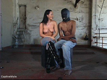 Photo number 2 from Fingered And Fucked: Sandra Romain Trains Secret Agent shot for Captive Male on Kink.com. Featuring Sandra Romain and Secret Agent in hardcore BDSM & Fetish porn.