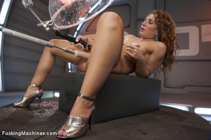 "Photo number 5 from Old Faithful has Competition! Savannah ""Squirt Machine"" Fox Returns shot for Fucking Machines on Kink.com. Featuring Savannah Fox in hardcore BDSM & Fetish porn."