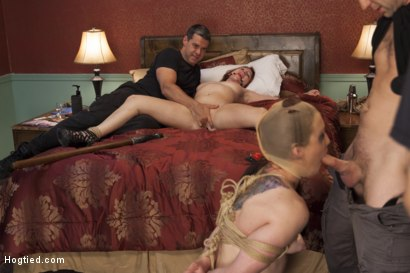 Photo number 4 from The Collectors shot for Hogtied on Kink.com. Featuring Sophia Locke and Cheyenne Jewel in hardcore BDSM & Fetish porn.