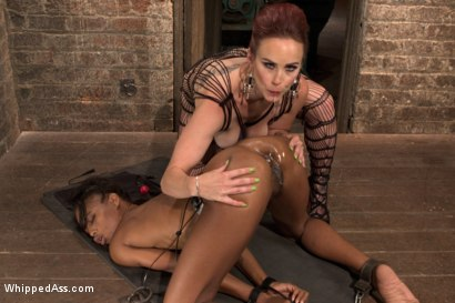 Photo number 13 from Lesbian Fuck Toy: Marie Luv shot for Whipped Ass on Kink.com. Featuring Bella Rossi and Marie Luv in hardcore BDSM & Fetish porn.