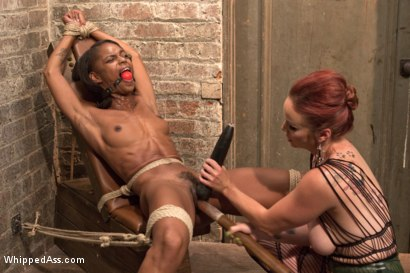 Photo number 10 from Lesbian Fuck Toy: Marie Luv shot for Whipped Ass on Kink.com. Featuring Bella Rossi and Marie Luv in hardcore BDSM & Fetish porn.