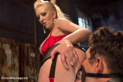 Photo number 12 from Dripping cocks must be punished! shot for Divine Bitches on Kink.com. Featuring Cherry Torn and Corbin Dallas in hardcore BDSM & Fetish porn.