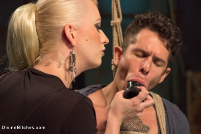Photo number 1 from Dripping cocks must be punished! shot for Divine Bitches on Kink.com. Featuring Cherry Torn and Corbin Dallas in hardcore BDSM & Fetish porn.