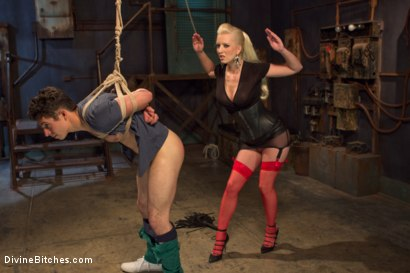 Photo number 2 from Dripping cocks must be punished! shot for Divine Bitches on Kink.com. Featuring Cherry Torn and Corbin Dallas in hardcore BDSM & Fetish porn.