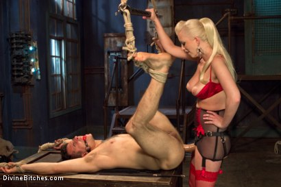 Photo number 4 from Dripping cocks must be punished! shot for Divine Bitches on Kink.com. Featuring Cherry Torn and Corbin Dallas in hardcore BDSM & Fetish porn.