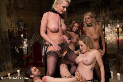 Photo number 10 from The Secret Femdom Society: Territorial Pissings shot for Divine Bitches on Kink.com. Featuring Bella Rossi, Jay Wimp, Cherry Torn, Amanda Tate, Aiden Starr and Maitresse Madeline Marlowe in hardcore BDSM & Fetish porn.
