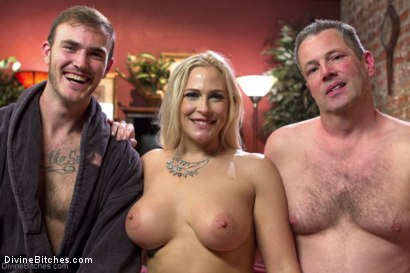 Photo number 33 from Cuckold my husband with his adopted son! shot for Divine Bitches on Kink.com. Featuring Angel Allwood, Christian Wilde and Jimmy Broadway in hardcore BDSM & Fetish porn.